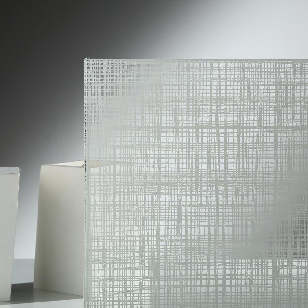Stampa digitale su vetro effetto tessuti vetreria bazzanese - Stampa digitale su piastrelle ...