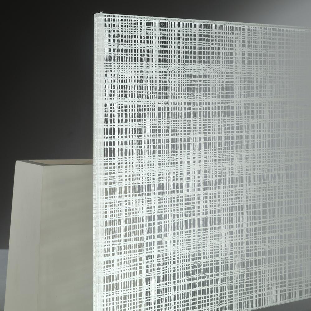 Stampa digitale su vetro effetto tessuto vetreria bazzanese - Stampa digitale su piastrelle ...