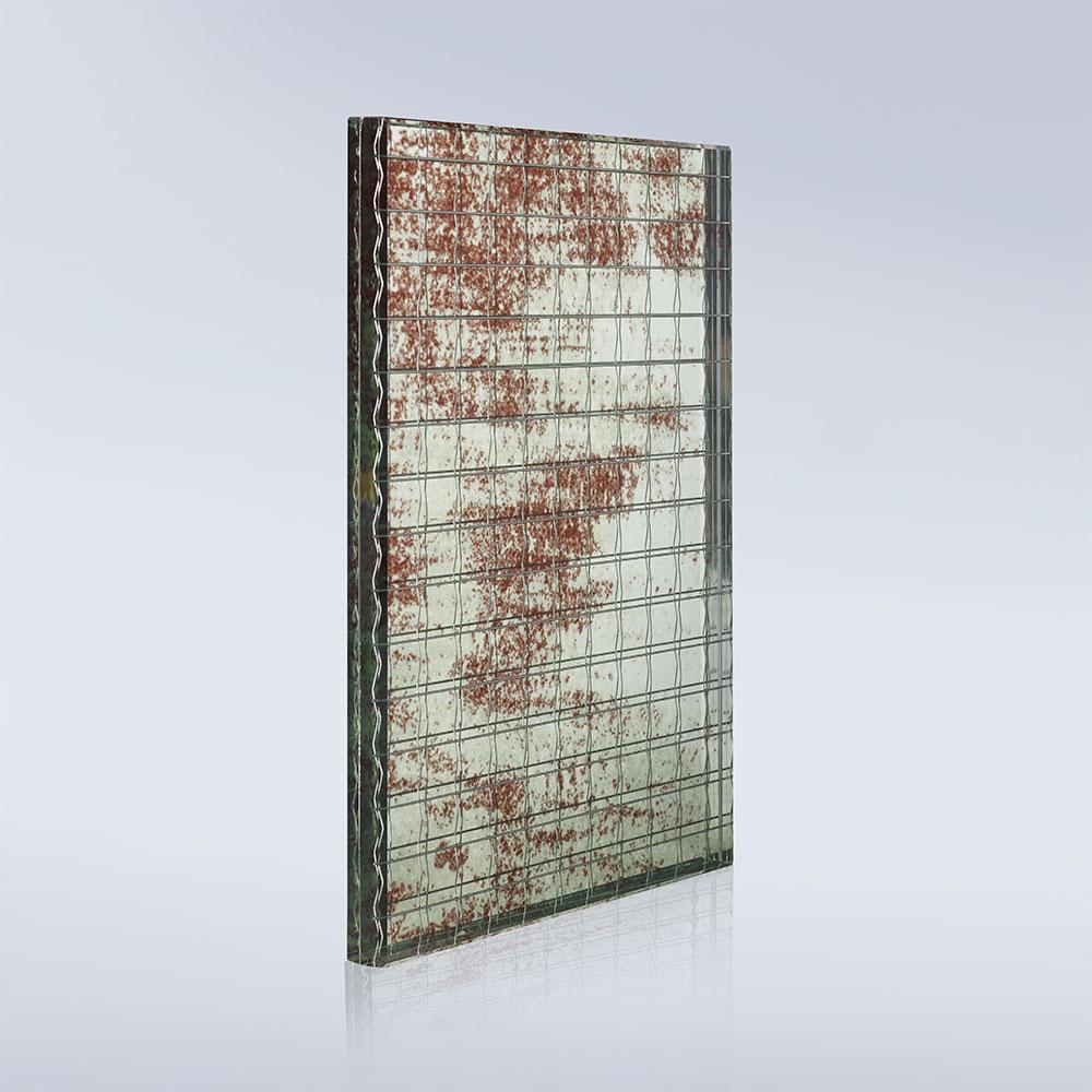 specchio da arredamento con vetro retinato